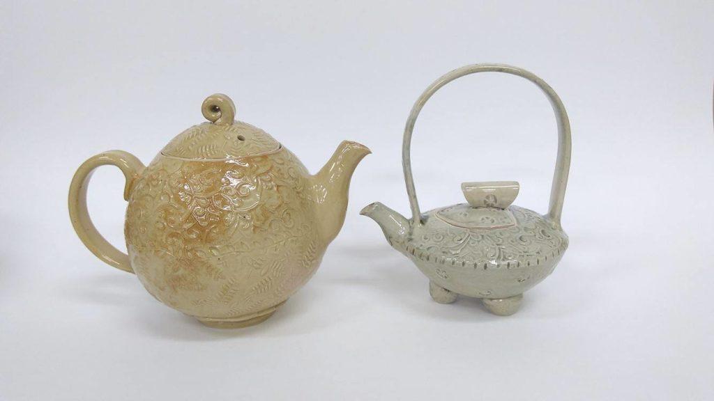 ceramics- teapots